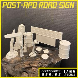 [AM57] Post-Apo Road Sign