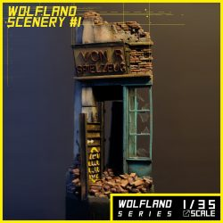 [AM31] Wolfland Scenery #1